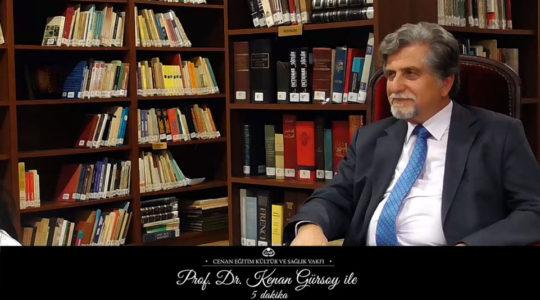 """Prof. Dr. Kenan Gürsoy ile 5 Dakika"" Video Programı-6.Bölüm"