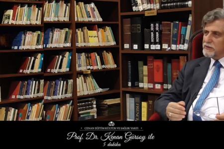 """Prof. Dr. Kenan Gürsoy ile 5 Dakika"" Video Programı-7.Bölüm"