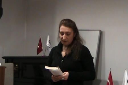 """Otobiyografi Sunumları-2<br>Ebru Kır Sunumu: """"Anılarım"""""""