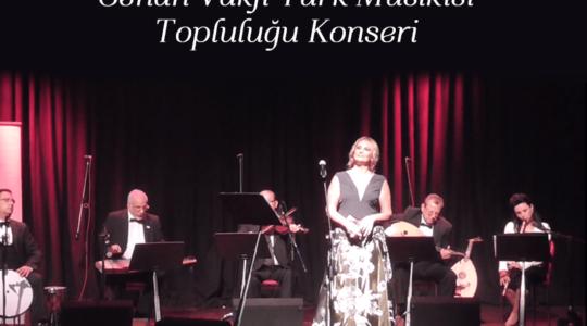 """Cenan Vakfı Türk Mûsikîsi<br>Topluluğu """"Yaz Konseri"""""""